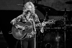 Tommy Shaw of STYX performing at California Concert Stock Image