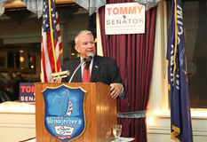 Tommy Thompson GOP Candidate for WI US Senate Royalty Free Stock Images