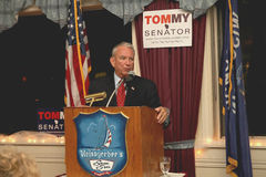 Tommy Thompson GOP Candidate for WI US Senate Stock Photo