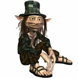 Tommy the Troll. 3D Render of an Troll Royalty Free Stock Images