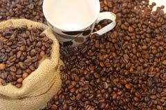 Tomo de Coffe, hora para o coffe, ruptura de café, grande tempo junto e café, tempo bonito com café Imagem de Stock Royalty Free