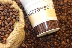 Tomo de Coffe, hora para o coffe, ruptura de café, grande tempo junto e café, tempo bonito com café Fotografia de Stock Royalty Free