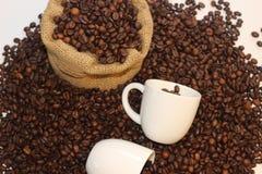 Tomo de Coffe, hora para o coffe, ruptura de café, grande tempo junto e café, tempo bonito com café Imagens de Stock Royalty Free