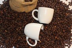 Tomo de Coffe, hora para o coffe, ruptura de café, grande tempo junto e café, tempo bonito com café Foto de Stock Royalty Free