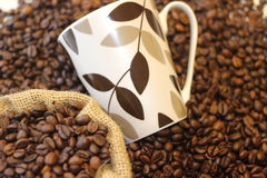 Tomo de Coffe, hora para o coffe, ruptura de café, grande tempo junto e café, tempo bonito com café Foto de Stock