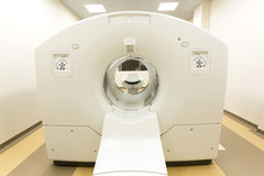 Tomography cancer treatment scanner royalty free stock photo