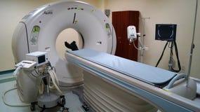 Tomographybildläsare Aquilion royaltyfria foton