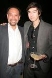 Tomohiro Hayashi and Andy Seri  Stock Photos