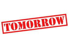 TOMORROW Royalty Free Stock Images
