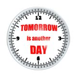 Tomorrow is another day Royalty Free Stock Photos
