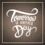Tomorrow is another day vector Stock Photo