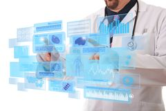 Tomorrow doctor royalty free stock photo