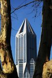 Tomorrow Plaza. In Shanghai, China. The building is 280M in height Stock Photography