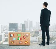 Tomorrow and travel concept Royalty Free Stock Images