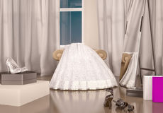 Tomorrow wedding! Royalty Free Stock Photo