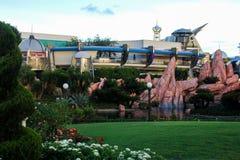 Tomorrowland bij het Magische Koninkrijk, Orlando, Florida stock afbeeldingen