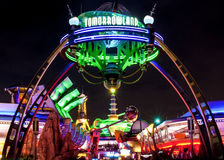 Tomorrowland Disney värld Royaltyfria Foton