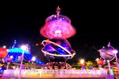 Tomorrowland fun ride at disneyland royalty free stock photography