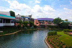 Tomorrowland restaurang, Walt Disney World arkivbild