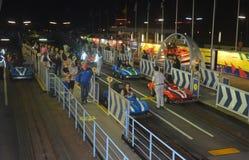 Tomorrowland Speedway   Magic Kingdom Attractions   Walt Disney Royalty Free Stock Photo