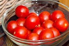 Tomotoes della ciliegia Immagine Stock
