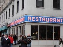 Toms restauracja Nowy Jork Obraz Stock