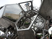 Tomás Saraceno on the Roof: Cloud City 2 Stock Image