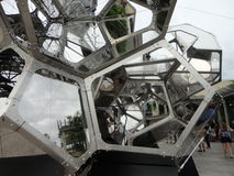 Tomás Saraceno on the Roof: Cloud City 5 Royalty Free Stock Photos
