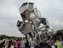 Tomás Saraceno on the Roof: Cloud City 6 Stock Image