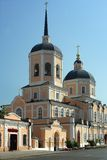 Tomsk, Bogoyavlensky Cathedral Stock Photo