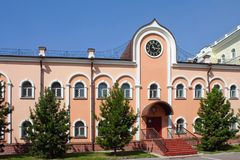 Tomsk, Church's Historical Museum Stock Photography