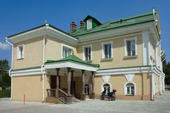 Tomsk, the commandant's House Stock Photography