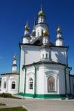Tomsk, Kazan Church Stock Photo