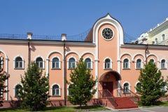 Tomsk kyrkas historiska museum Arkivbild