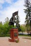 tomsk Monumento militar Foto de archivo