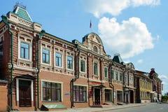 Tomsk, old street Royalty Free Stock Image