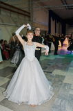 tomsk Rusland - Januari 23, 2016: Moderne dans Royalty-vrije Stock Afbeeldingen