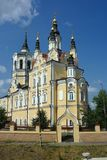 Tomsk, Voskresenskaya Church Stock Photography