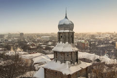 Tomsk in winter Royalty Free Stock Photos