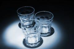 tomt exponeringsglas Royaltyfria Bilder