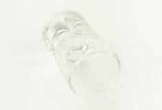 Tomt exponeringsglas Arkivfoto