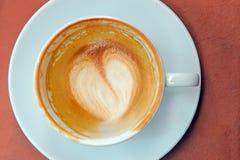 Tomt exponeringsglas av kaffe Arkivfoto