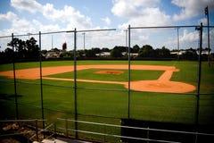 tomt fält för baseball Arkivfoton