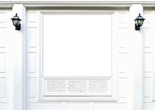 tomt fönster Arkivfoto