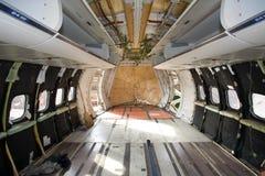 tomt flygplanbräde arkivfoto