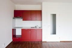 tomt kök Fotografering för Bildbyråer