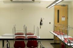 tomt klassrum Arkivfoton