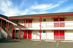 tomt motell Royaltyfri Fotografi