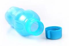 tomt plastic vatten för flaska Royaltyfri Fotografi