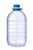 tomt plastic vatten för flaska Arkivbild